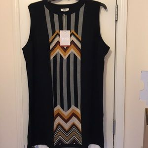 NEW Missoni for Target 2019 black sweater dress 3X